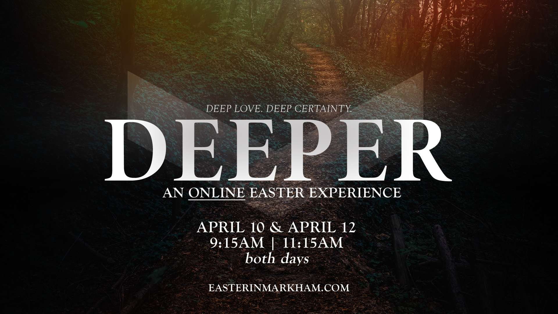 DEEPER_Easter Weekend