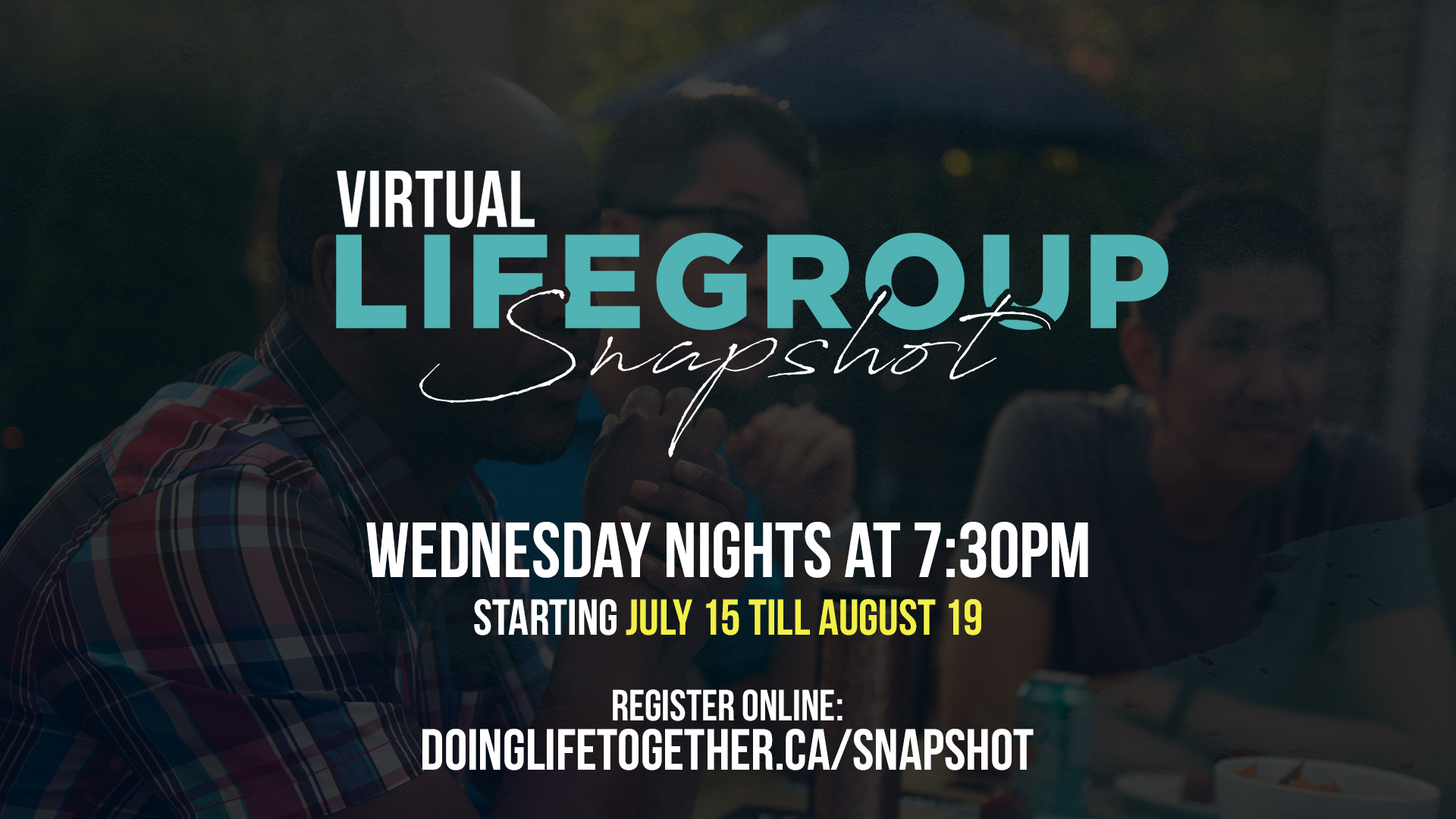 LifeGroup Snapshot AdsFor Service Slides