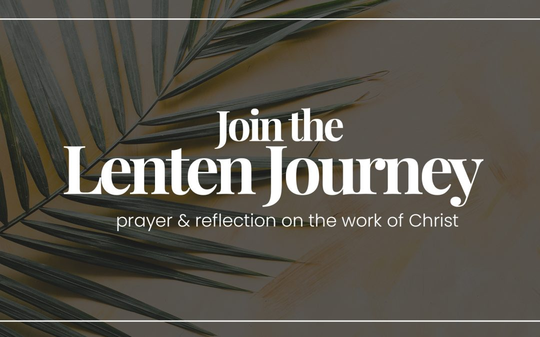The Lenten Journey